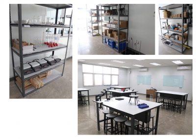 Physics Laboratory abd Storage Room
