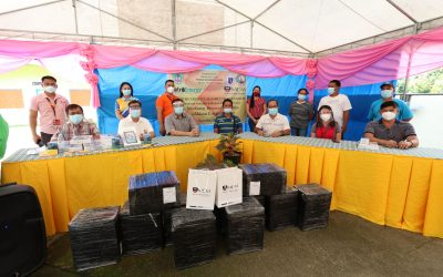Malayan Colleges Mindanao Donates Tablets, Pocket WiFi, and Sim Cards to Batasan Elementary School in Makilala, North Cotabato